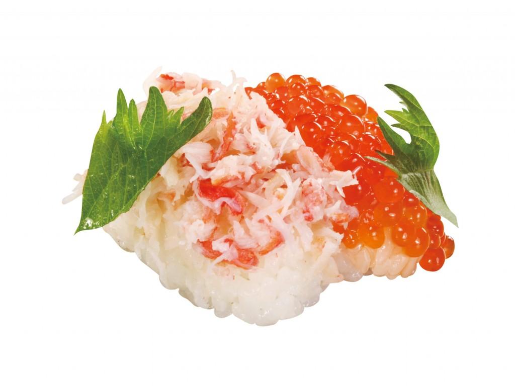 くら寿司の『絶品かにといくらのちらし』