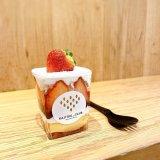 カジツクラブの『苺大福のカップケーキ』