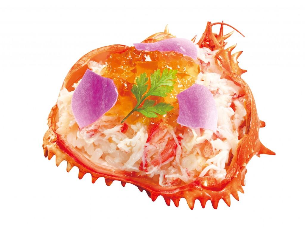 くら寿司の『本ズワイガニ お出汁ジュレ』
