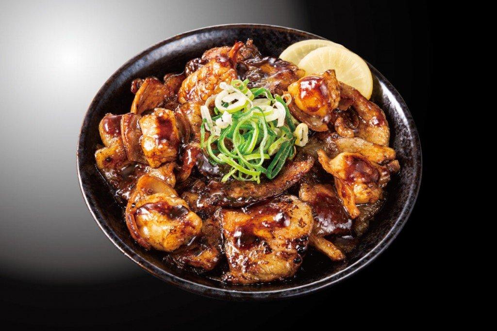 すた丼屋の『炭焼き牛ホルすた丼』