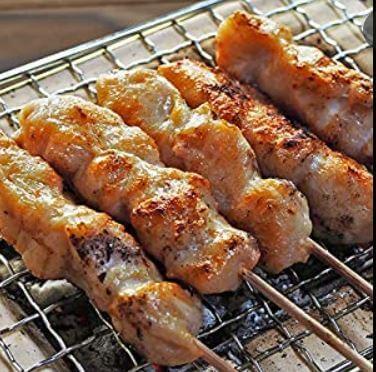 北海道産鶏もも串