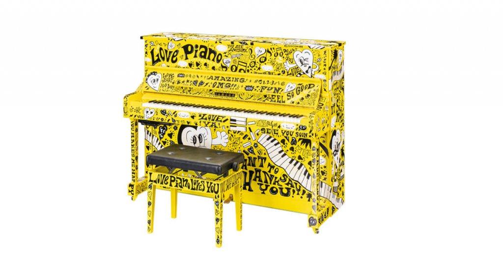 ストリートピアノ『LovePiano