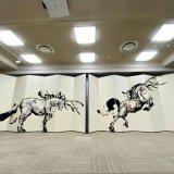 札幌ピヴォに「AITO KITAZAKI」による5mの巨大屏風アートが登場!