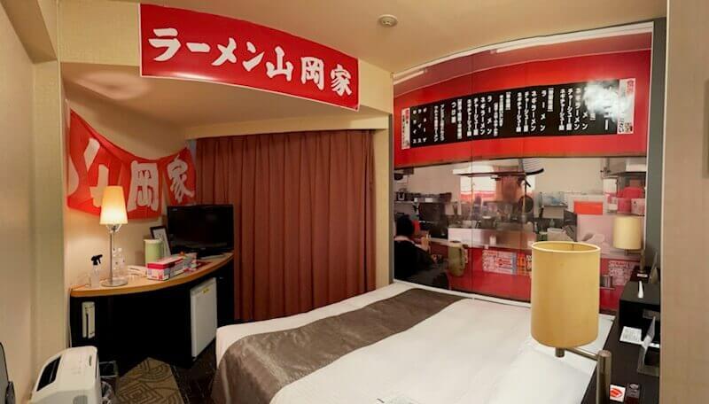 札幌東急REIホテルの『山岡家部屋2(やまおかやべや2)』