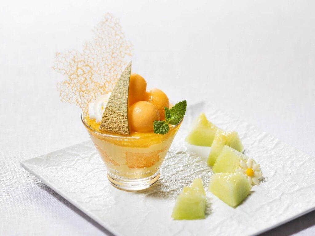 札幌グランドホテルの『SWEETS COLLECTION』-7月テーマ「メロン」