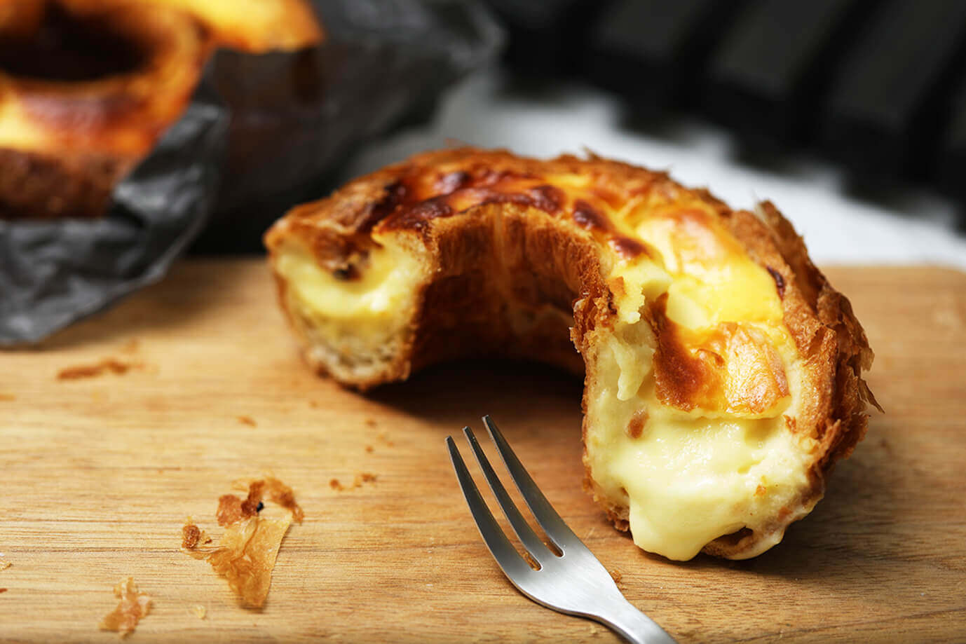 ハートブレッドアンティークの『とろなまバスクチーズリング』