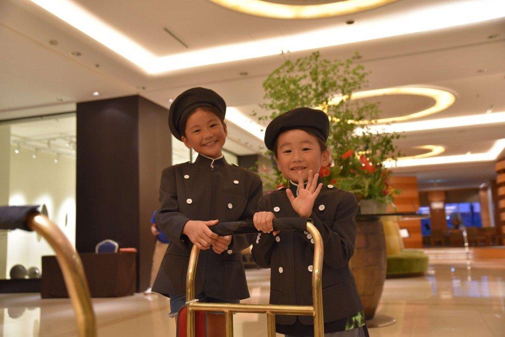 札幌グランドホテルの『プチホテリエ体験♪ 夏休みファミリープラン』