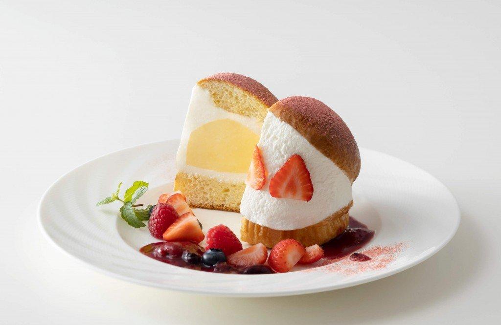 札幌グランドホテルの『マリトッツォアイスクリーム いちご』