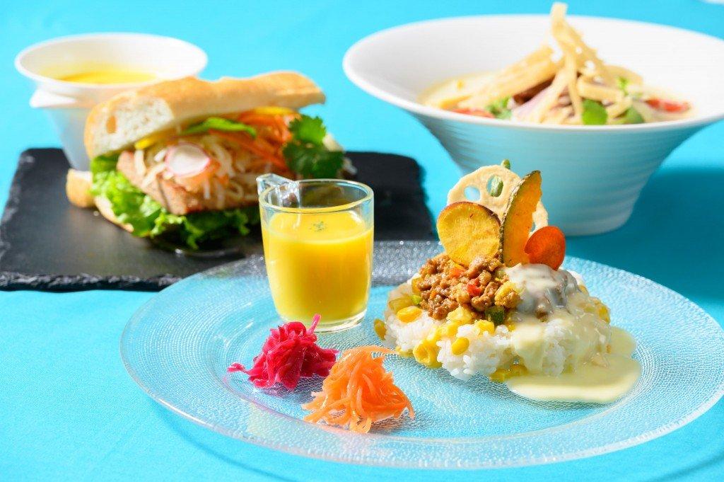 ANAクラウンプラザホテル札幌-Café Minamoの『のんびりCaféごはん~アジア風ちょうどいいランチ』