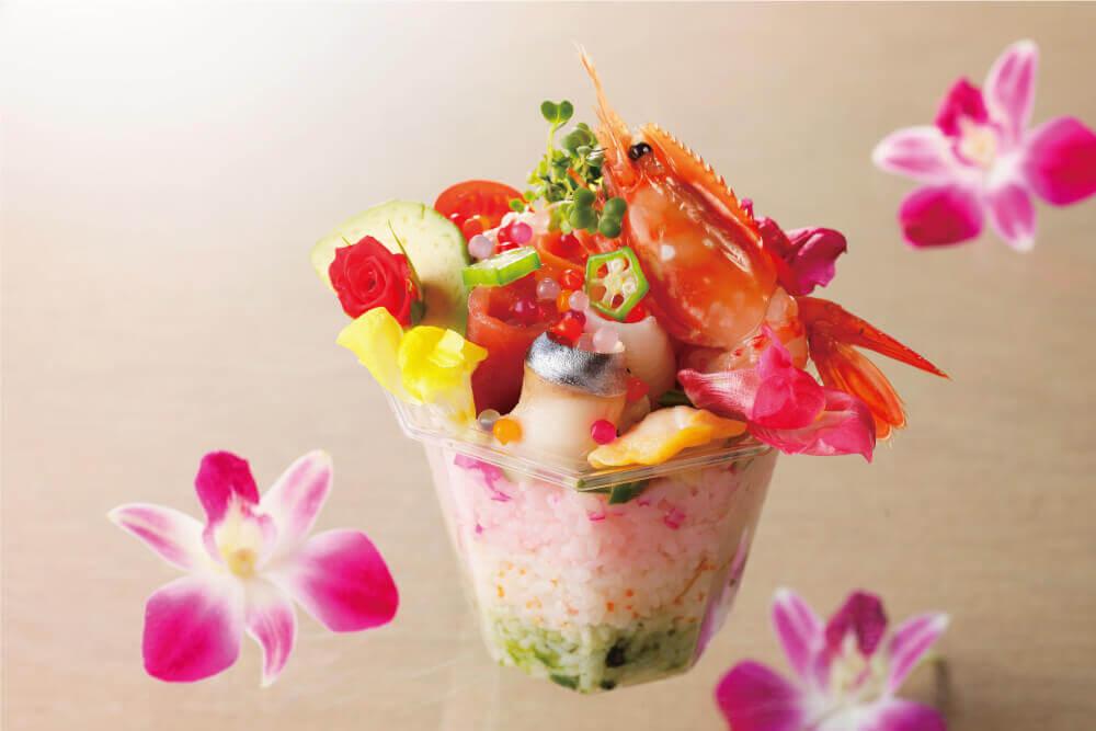 札幌エクセルホテル東急の『彩り海鮮パフェ(宿泊者限定商品)』