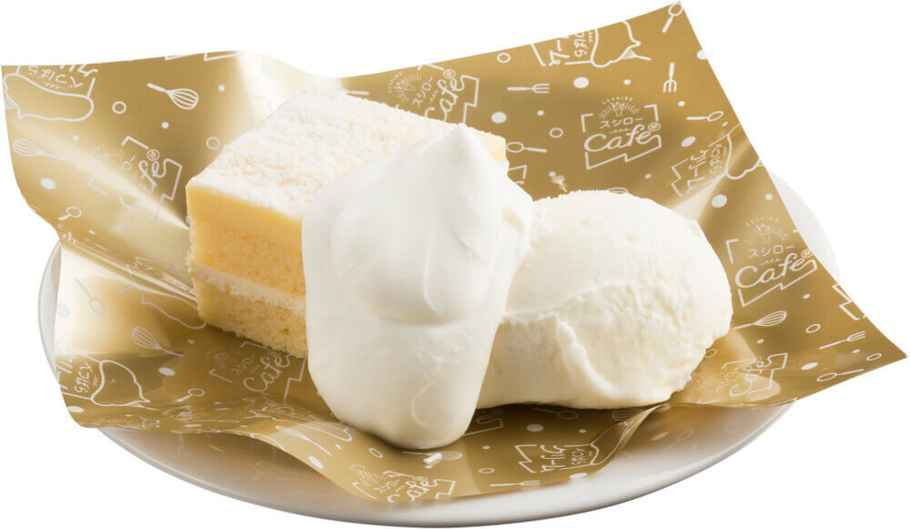 スシローの『とことん北海道市』-北海道発酵バターのカスタードクリームケーキ