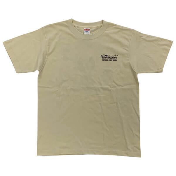 タワーレコード×『はぴだんぶい』とのコラボグッズ-Tシャツ