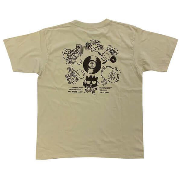 タワーレコード×『はぴだんぶい』とのコラボグッズ-Tシャツ(裏面)