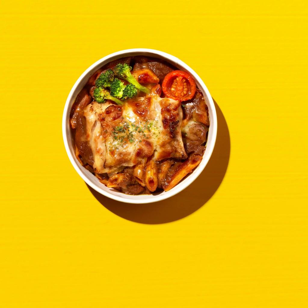 ファミリーマートの『ファミマ 夏のカレー祭り』-チキンのカレーチーズ焼き