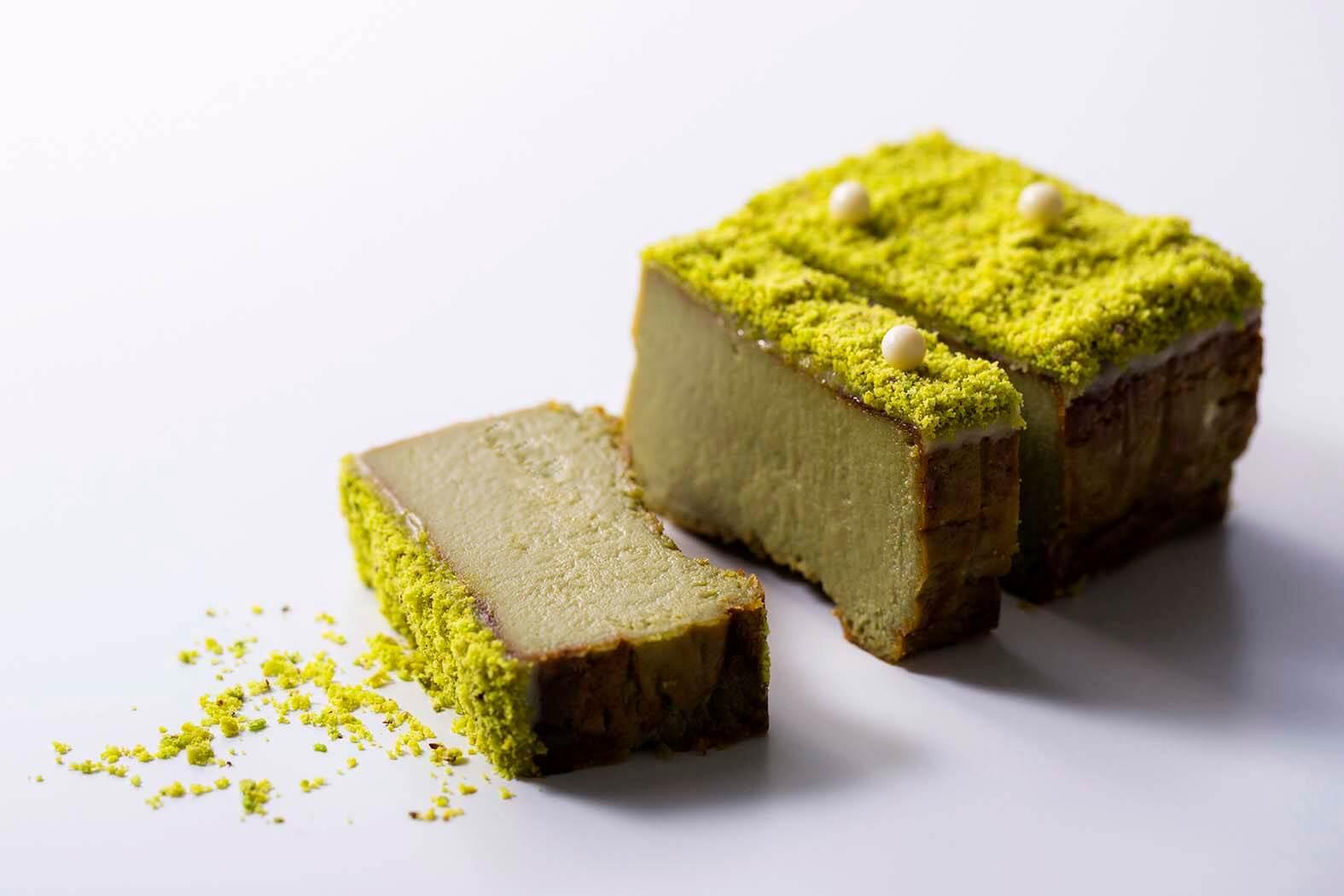 佐藤堂の『ピスタチオのチーズケーキ』