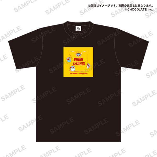 タワーレコードの「ブルーハムハム」とコラボグッズ-Tシャツ バッグ