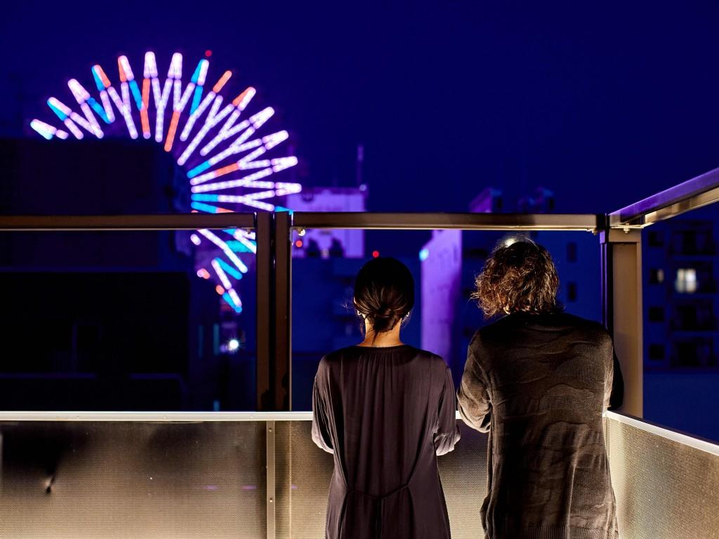 41PIECES Sapporo-屋上からの景色