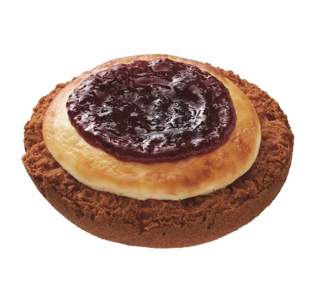 ミスタードーナツの『misdo meets BAKE & ZAKUZAKU』-ベイク チーズタルトドーナツブルーベリー