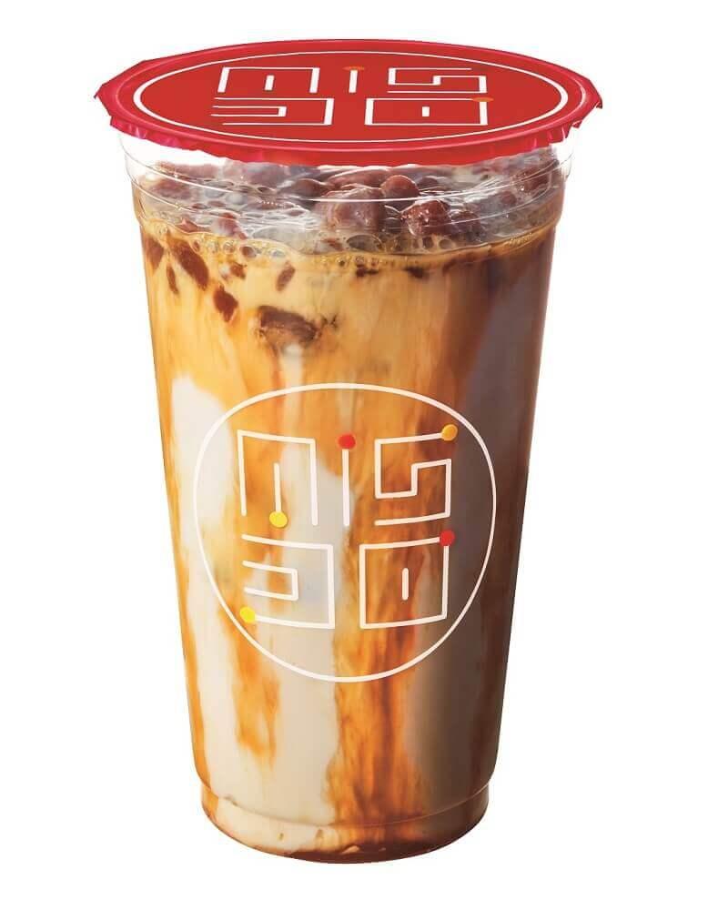 ミスタードーナツの『ダブル氷コーヒー キャラメル』