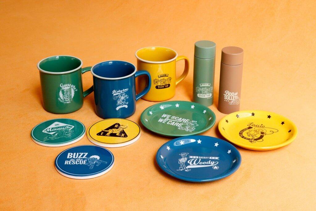 3COINSの『ピクサーのキャラクターをデザインした限定アイテム』-おうち時間が楽しくなるマグカップやプレートなど