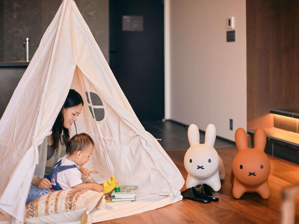 41PIECES Sapporo-家族連れに人気のテント