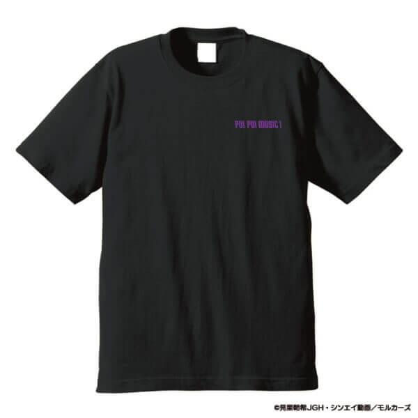 タワーレコード×PUI PUI モルカーの『DJモルカー Tシャツ ブラック(表)』