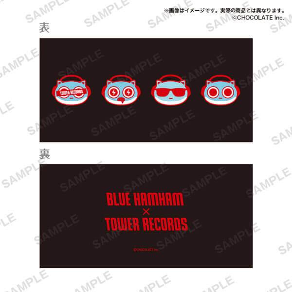 タワーレコードの「ブルーハムハム」とコラボグッズ-チケットホルダー