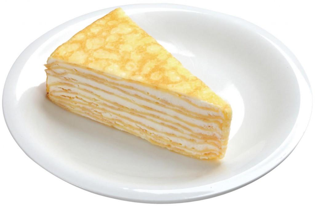 スシローのデリバリー人気商品『北海道ミルクレープ』