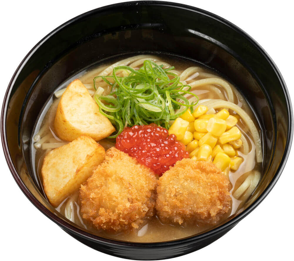 スシローの『とことん北海道市』-魚介出汁の北海道味噌ラーメン
