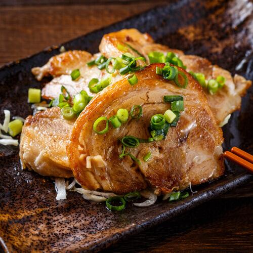 肉汁餃子のダンダダンの『自家製炙りチャーシュー』