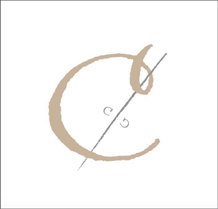 セルフ写真館C%のロゴ