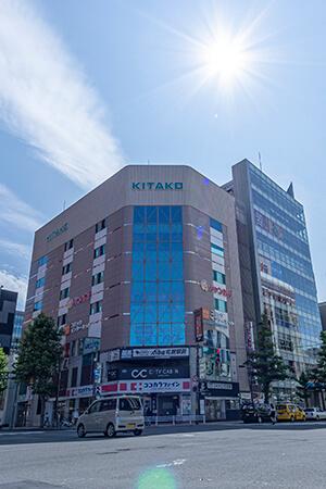 TCB東京中央美容外科 札幌院の外観