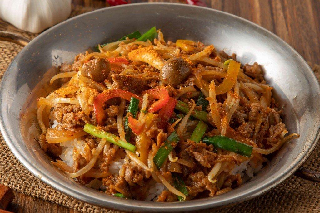 チャンゴン食堂の『辛口!プルコギ丼』