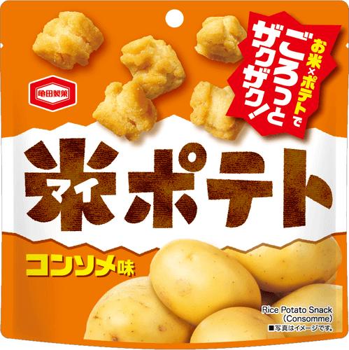 『50g 米ポテト コンソメ味』