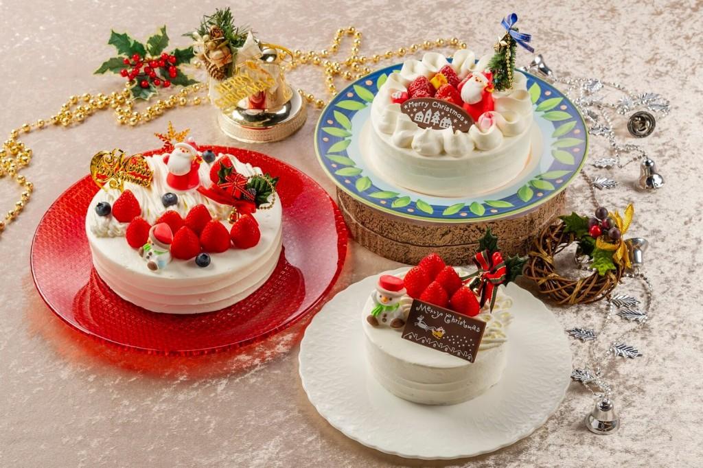 グリルブッフェ&レストラン・バー オードリーのクリスマスケーキ