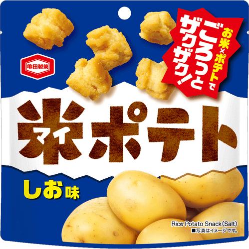 『50g 米ポテト しお味』