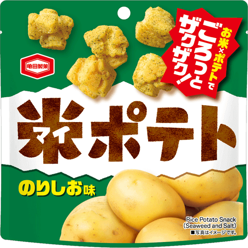 『50g 米ポテト のりしお味』