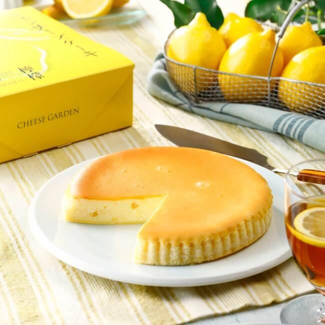 チーズガーデンの『御用邸レモンチーズケーキ』