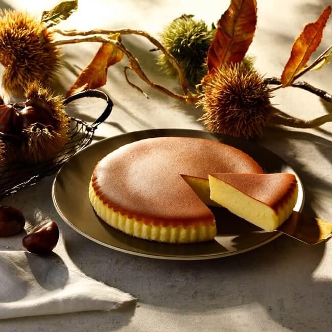 チーズガーデンの『御用邸栗チーズケーキ』