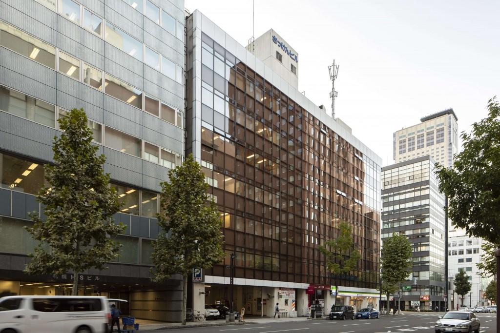 オフィスコム札幌支店・札幌ショールームの外観