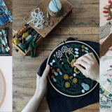 世界的な刺繍作家・樋口愉美子さんの作品展『樋口愉美子 刺繍の世界展』が10月7日(木)よりマリヤ手芸店3階 マリヤギャラリーで開催!