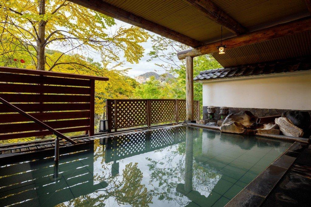 札幌・定山渓温泉 章月グランドホテルの温泉