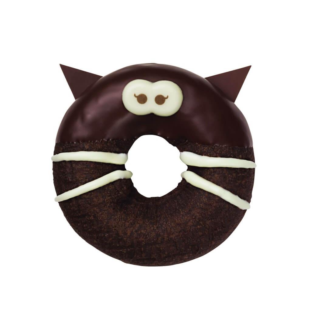 ミスタードーナツの『まっくろチョコねこ』