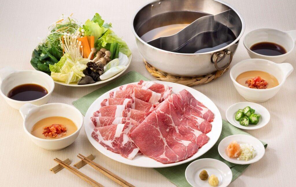 しゃぶ葉の『ナチュラル牛ロース&イベリコ豚食べ放題』