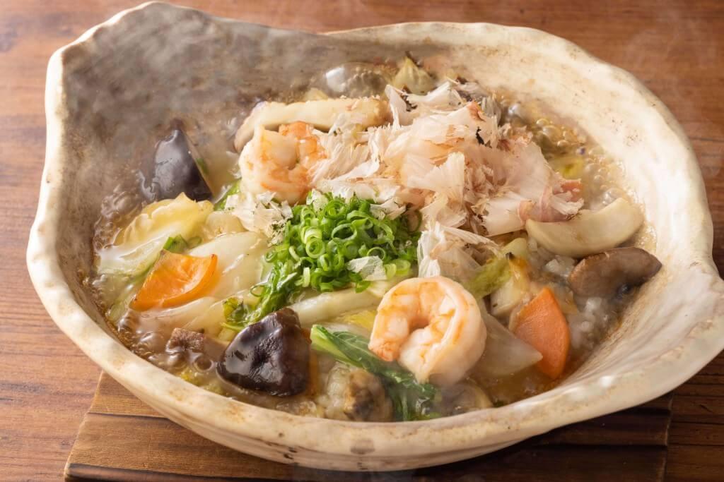 大戸屋の『木の子海鮮あんかけ土鍋ごはん定食』