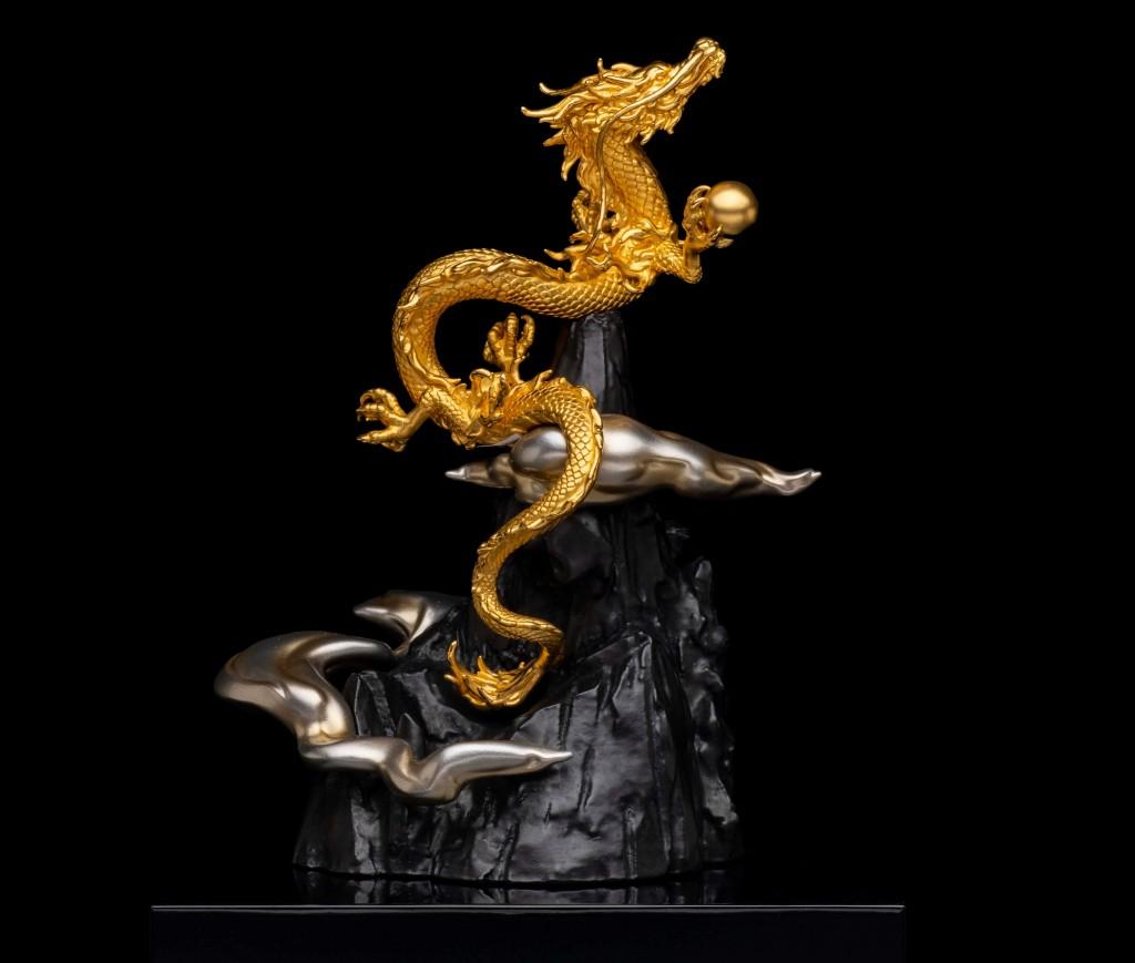 大丸の大黄金展の『K24昇り龍』