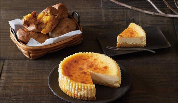 ルタオの『安納芋のベイクドチーズ』-安納芋のコクと上品な余韻を楽しむ