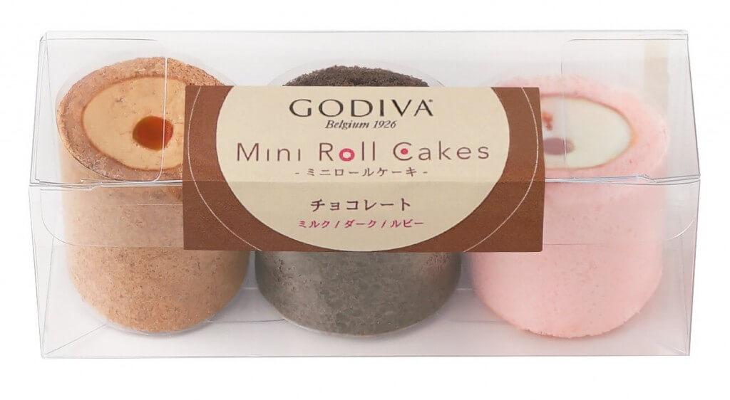 ゴディバの『ミニロールケーキ』-チョコレート