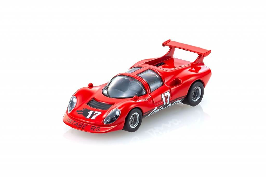『KYOSHO MINI CAR & BOOK No.07』・THE CIRCUIT WOLF Yatabe RS