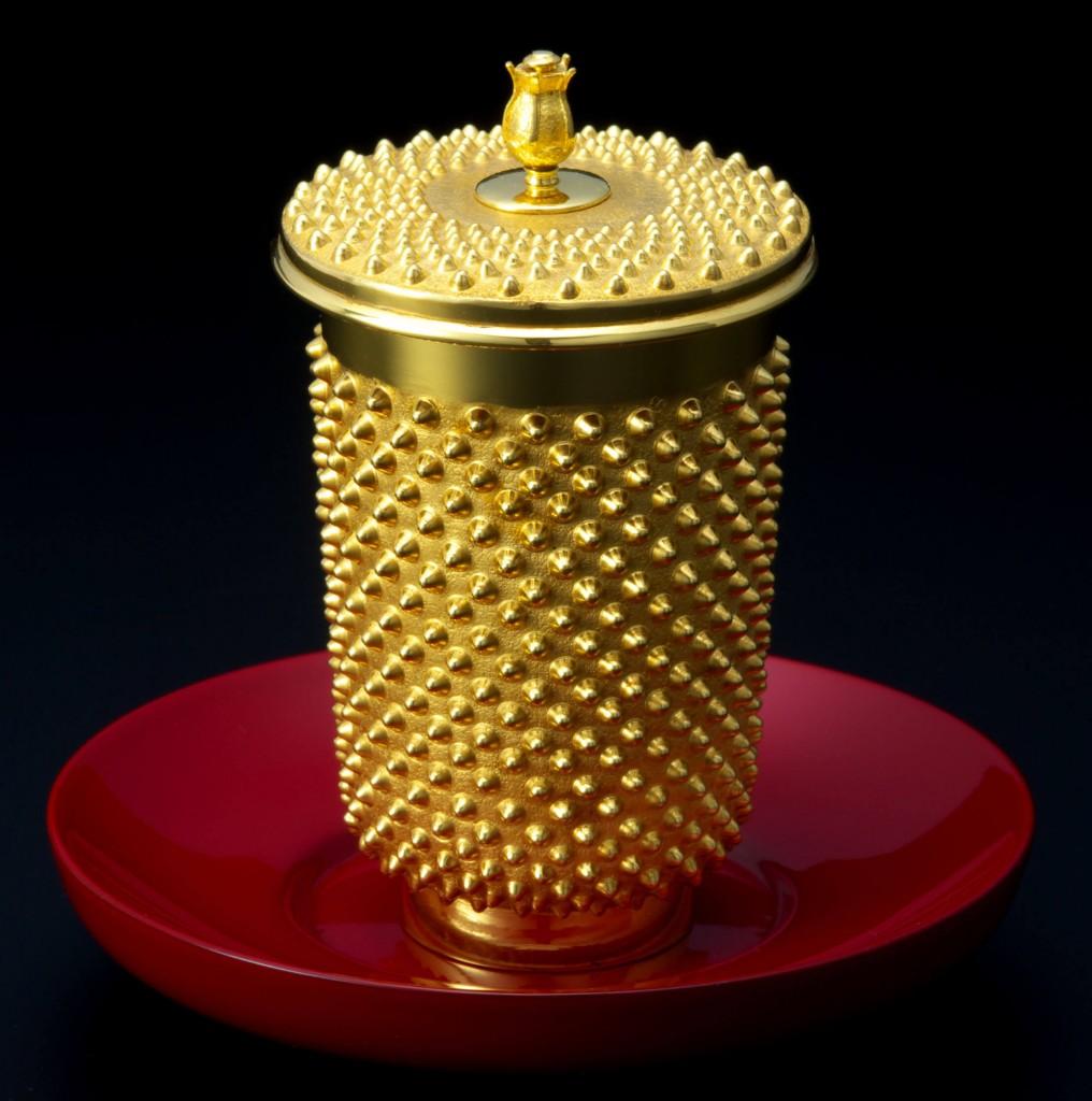 大丸の大黄金展の『K24湯呑あられ』